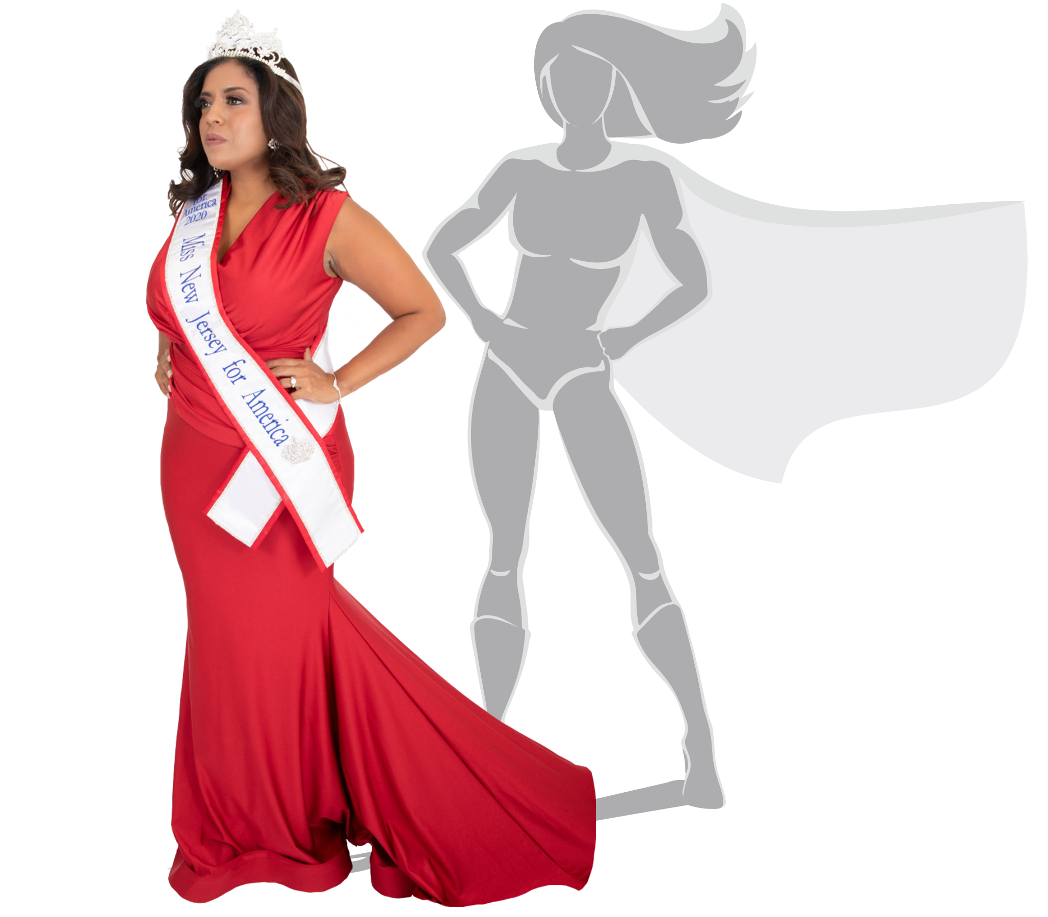Ilsy Hoo Miss New Jersey For America